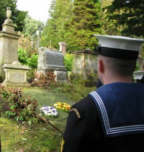 Birdie Bowers, Greenock Cemetery 048a
