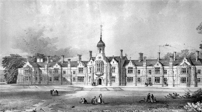 Sir Gabriel Wood Mariners' Asylum 1854