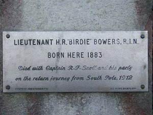 Birdie Bowers Plaque