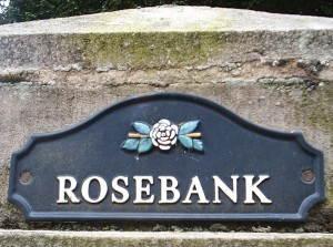 Rosebank Sign