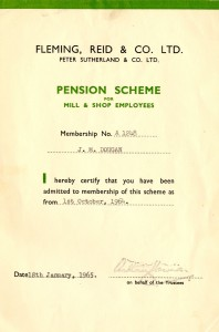 Jean's Pension Card