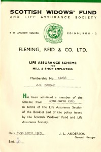 Life Assurance Scheme