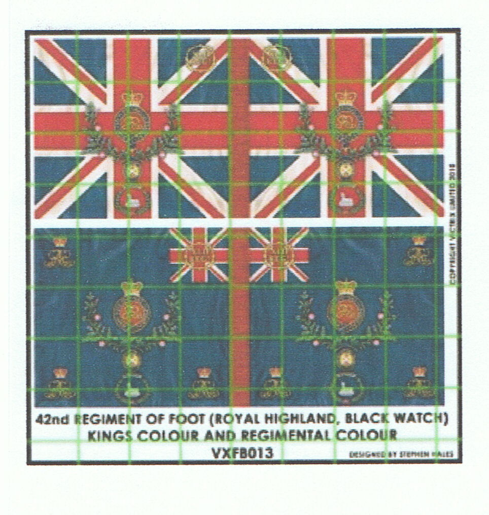 42nd regiment colours