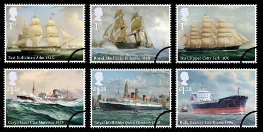 Cutty sark stamp september 2013