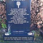Agnes curran grave