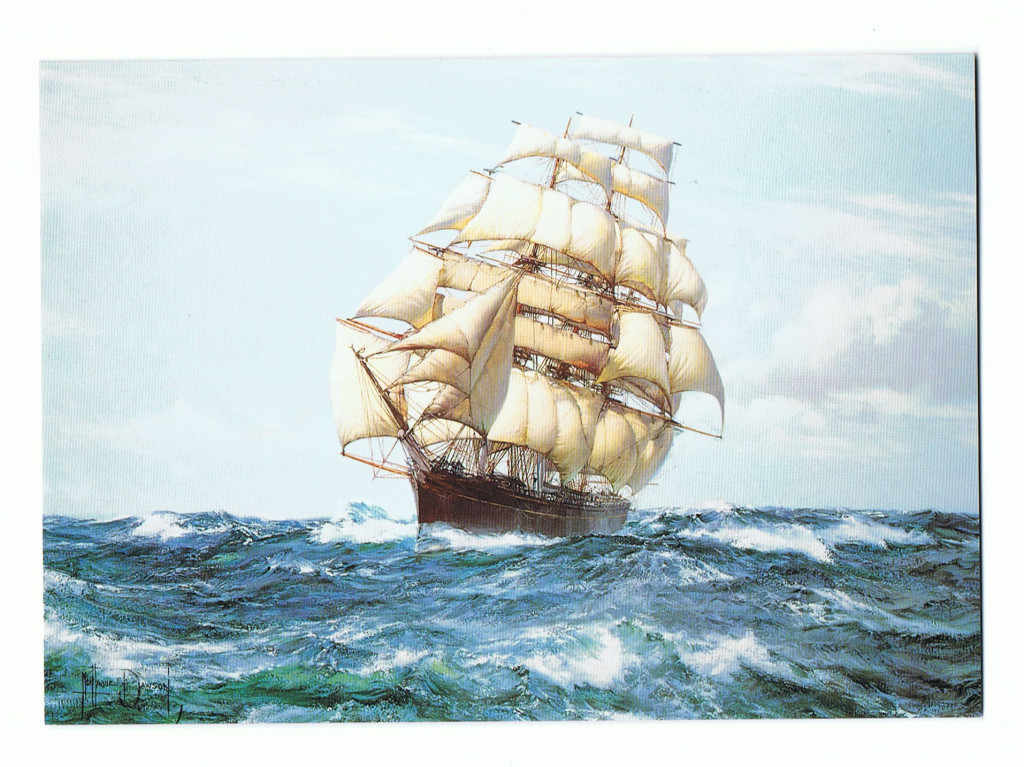 The Cutty Sark - Racing Home
