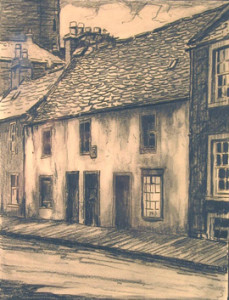 Kirkcudbright High Street by Taylor