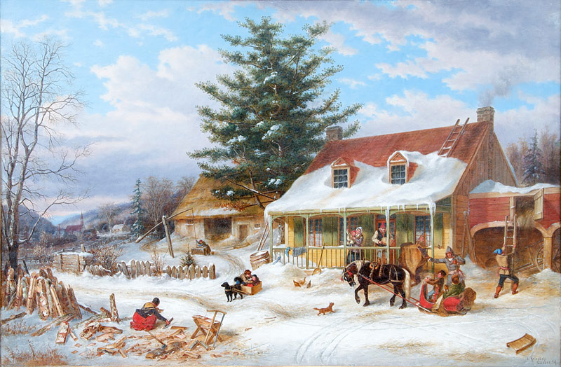 Early Canadian Homestead 1859