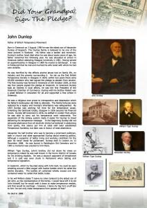 Temperance project - John-Dunlop